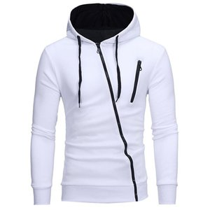 Fashion Hooded Zipper Jacket Casual Coat Autumn and Winter Round Neck Hooded Long Sleeve Warm Sports Coat