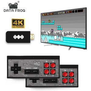 Nuovi 4K HD Video giocatore del gioco senza fili del gioco portatile della barra di comando HDMI regalo scherza il Portable Console da gioco / AV 568 Retro Classic Games wireless 600