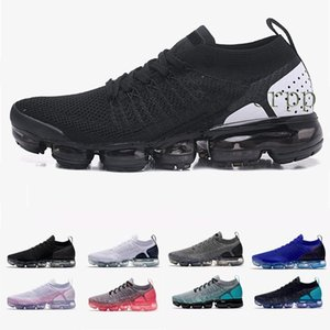 2018 2.0 Men Running Shoes For Women Sneakers Mens White Black Trainers Sports Running 2 Designer Walking Shoes 9428422019 Knit 2.0 Fly 1.0