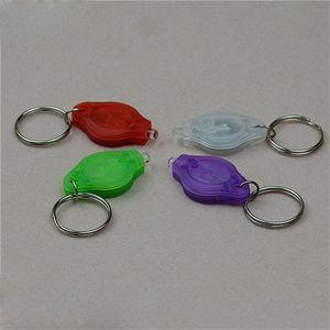 Car key accessories Key Chain Ring PK White LED UV Bulbs ton II Photon 2 Currency Passports Detector LED Keychain Flashlight