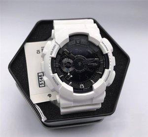(110 개) 시계 원래 상자 모든 액세서리 방수 G 스타일 쇼크 시계의 모든 기능 작동 Autolight 스포츠 남자 시계를 DROPSHIPPING