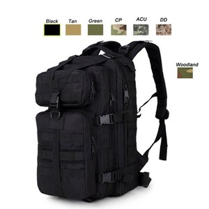 Outdoor Sports wasserdichte Tactical Pack Tasche / Rucksack / Knapsack / Angriffskampf Tarnung Tactical Camo Molle 35L Rucksack NO11-034