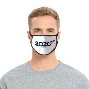 TRUMP قناع الحرير الجليد TRUMP 2020 KEEP AMERICA عظيم قابلة لإعادة الاستخدام قابل للغسل القماش حماية قناع الوجه 18 أنماط LJJK2169
