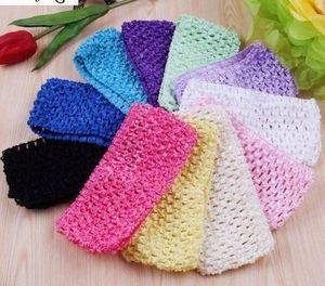 Fasce di Tulle Elastic Knit Apparel Sewing Fabric DIY Girl Headband Birthday Party Baby Shower Regali