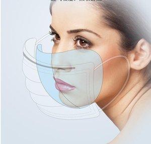 50 adet tek kullanımlık yüz maskeleri toz geçirmez ağız maskesi anti PM2. 5Anti toz solunum Emniyet maskeleri yüz bakımı elastik