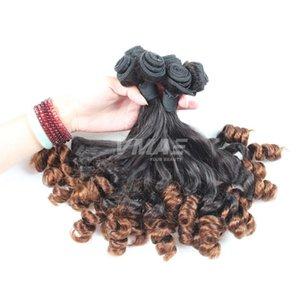 VMAE Бразильского Тетенька Фуого Virgin Hair Надувного Уток Natural Black Nice Фуой курчавый волос Необработанные 3 Связки предложение Женщины волос