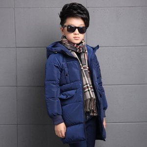 Neuer Wintermantel Jungs Dicker Lang Zopper Childerns Winterkleidung Doudoune Enfant Garcon Junge Jacke 6WBT025