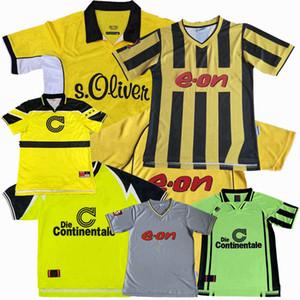 Retro clássico 1995 1996 1997 1998 2000 2001 2002 Borussia Dortmund Futebol 2003 camisa de futebol Rosicky Bobic Rosicky Retro S-2XL