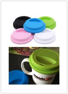 Silicone isolamento a perfetta tenuta della tazza del coperchio resistente al calore tazza anti-polvere copertura casa e giardino cucina per tè e caffè Capsula coperchio 500PCS