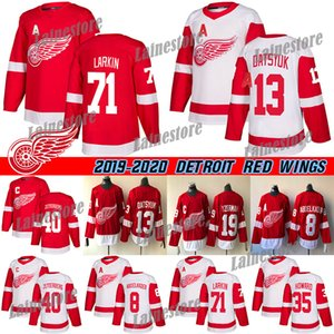 Detroit Red Wings Formalar Hokeyi 71 Dylan Larkin 13 Pavel Datsyuk 40 Henrik 8 Justin Abdelkader 19 Steve Yzerman9 Howe hokey formaları