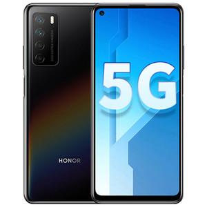"""Original Huawei Honor Play 4 5G Mobile Phone 8 GB de RAM 128GB ROM MTK 800 Octa Núcleo Android 6,81"""" Phone 64MP AI cara ID de impressão digital inteligente celular"""