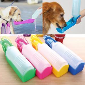 جديد المحمولة كلب زجاجة مياه التغذية السلطانية الكلب القطط السفر في طيها موزع المغذية كأس مستلزمات WX9-1482