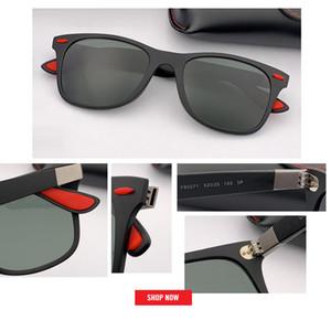 Nueva moda hombre mujer Gafas de sol con gafas de sol polarizadas de calidad superior Diseño clásico All-Fit Mirror Sunglass Con Marca Box