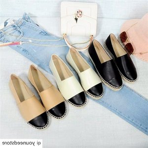 Women's Shoes New Fashion Genuine Leather Flat Shoes Classical Brand Designers Women Spring Autumn Espadrilles Loafers Shoes