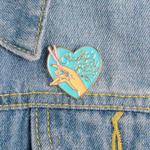 Симпатичный Малый Love Heart Весёлой Эмаль Брошь Булавка для женщин Рождества Демина Рубашки Декор Броши Pin металл Kawaii знак мода ювелирных изделий