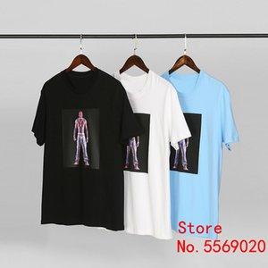 Sureme 2020ss Üst Kalite Tupac Hologra Baskılı Tişörtler Erkekler Kadınlar Çiftler Kısa Kollu T Shirt Bogo 2Pac Pamuk Tişört Erkekler
