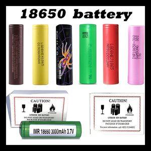 Top Quality HG2 30Q VTC6 3000mAh INR18650 25R HE2 HE4 2500mAh VTC5 18650 Battery Rechargable Lithium Cell For Sony Samsung LG Mod