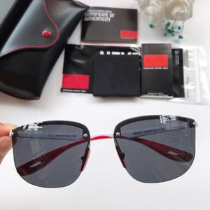 Neue Mode Halbrand Polarisierte Sonnenbrille Männer Frauen Marke Designer Halb Rahmen Klassische Oculos De Sol UV400