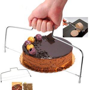 Nivelador de corte de bolo cortador de fio ajustável cortador de pão Deceler ferramentas de divisor de decoração