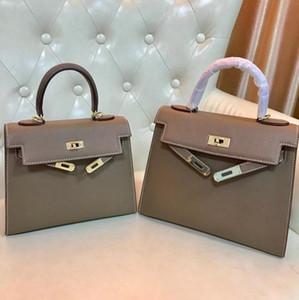 25cm 28 centimetri Moda Borse Totes Espom Borsa in pelle K Donne borsa del cuoio genuino pelle bovina Borse a tracolla donna borsa di alta qualità
