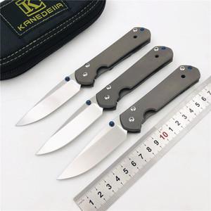 Kanedeiia pequena sebenza 21 simples dobragem faca s35vn lâmina punho titânio caça campismo sobrevivência bolso fruta facas ferramenta EDC