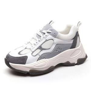 2020 Ins Sıcak Kadın Baba Ayakkabı Kalın Dip Yeni Moda Stil Kadınlar Sneakers Lady Kız Günlük Ayakkabılar Tenis Feminino İlkbahar Ayakkabı