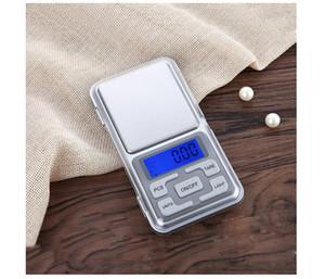 100g 500g 0.01g digital de precisión Balanza de laboratorio Escalas de joyería de bolsillo portátiles digitales Balanzas de laboratorio electrónico de peso