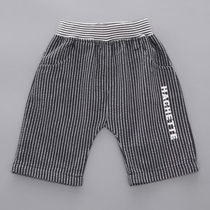 Summer Kids Boys Clothes 2019 Boy Gentleman Suit Fake Bow Tie Letter T Shirt Striped Shorts Sets Toddler Boy Outfits 1 2 3 Years