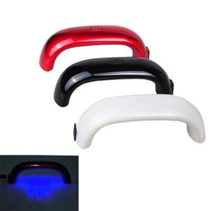 9W Mini-LED-UV-Lampen-Gel-Nagellack-Nagel-Trockner Maniküre Led Regenbogen-Nagel-Lampe für Nagel-Kunst-Werkzeuge Tragbare Vanishes Polymerisationslampe