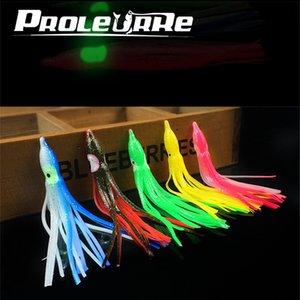 5pcs set Fishing Squid Lures Soft 11cm 3g Fishing Jigging Lure Sea Fishing Squid Jigs Artificial 5 Colors Soft Bait Yr-332