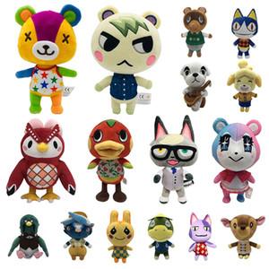 Animal Crossing de juguete de felpa amiibo Mariscal animales raros retrocesos de Bob Marshal Puntadas Celeste Judy NFC juguete de felpa Cambiar NS Juegos de juguete de felpa los 21CM