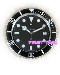 reloj de pared de la decoración del hogar moderno diseño de marca de alta calidad nueva cara luminosa de acero inoxidable calendarios FT-UB001