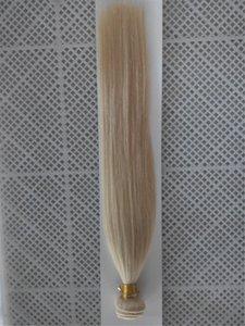 패션 컬러 백금 금발 컬러 페루 버진 스트레이트 100 % 인간의 머리카락 1 조각 헤어 위브 번들 헤어 확장