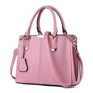 Heiße Verkaufs-Art- und Frauen Leder-Handtasche Geneigte Female Bow-Knoten-Schulter-Beutel-Handtaschen-Dame-Einkaufstaschen Messenger Bag Rosa