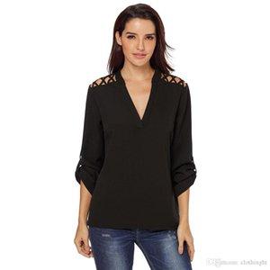 2018 yeni PattyBoutik Bayan Boatneck Kesme Strappy Bluz tişört