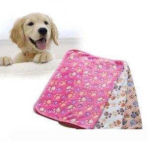 Yumuşak Sıcak Paw Mat kalemler Yüksek emici Temizleme Kurutma Banyo Havlu Pet Ürün 40 * 60cm kennels Yatak Küçük Hayvan Köpek Kedi Battaniye yazdır