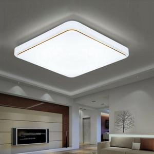 12 18 24W Square LED Ceiling Light Flush Mount For Living Room Kitchen Bedroom Fixture Lamp
