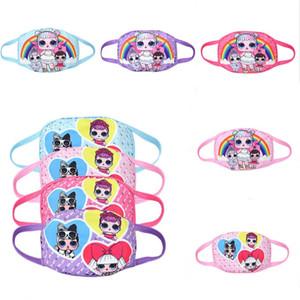 8style glir Puppe Anti-Staubmaske, Designer Baumwolle Winddichtes Gesichtsmaske Waschbar Gesicht Abdeckung für Outdoor, Sport, Motorräder zxooo2