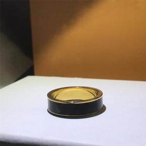 Кольцо способа для женщин Мужчина Unisex Кольца Мужчины Женские украшения 4 цвета подарков Модные аксессуары