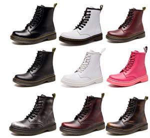 Kadın Winter unisex Sıcak satmak Kar Boots erkekler Motosiklet botları Isınma klasik erkekler kadınlar doc sansar Martin Çizme Ayakkabı Zapatos de mujer
