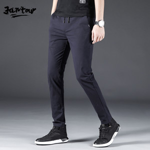 Cotto Joggers Black Men's Harem Pants Harajuku Fitness Lace Up Spring Mens Trousers 2020 Summer Streetwear Clothes Male