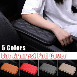 Auto Center Console Pad Multi-fonctionnel PU Boîte voiture cuir Accoudoirs Seat Cover Protector Universal Fit Car Accoudoirs Pad Cover