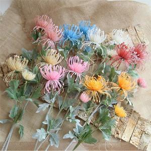 """Gefälschte Single Stem Pillow Flower (3 Köpfe / Stück) 25,2 """"Länge Simulation Crab Claw Orchid für Home Dekorative künstliche Blumen"""