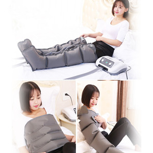 masajeador presión de aire máquinas de masaje linfático Compresión de aire eléctrica presoterapia pie Massager de la cintura de la pierna del brazo