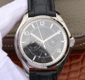 Vc-fiftysix montre de luxe affichage lumineux original mouvement mécanique en verre saphir bracelet en cuir montre étanche montres pour hommes