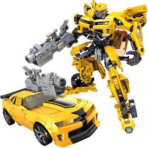 Enfants Robot Jouet Transformation action Série Anime Toy 2 Taille Robot voiture ABS Modèle en plastique Figurine jouet pour enfant SH190916