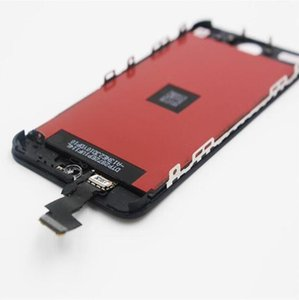 2019 새로운 밝은 백라이트 LCD 디스플레이 아이폰 5S 터치 스크린 디지타이저 전체 어셈블리 교체 수리 부품 무료
