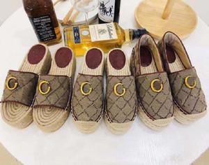 New Top Fashion Luxury leather Designer Womens Suede wedge Sandals Fashion Shoes Slide Sandals Flat shoe Dress Shoes shoe001store GU08
