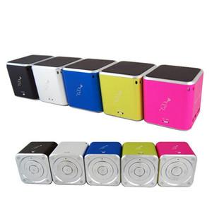 Neue Original-Musik-Engels-MD06 Minilautsprecher Stereo Speakesrs Unterstützungs-TF-Karten-bewegliche Digital-MP3-Player