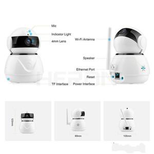 Wifi 1080P sicurezza Smart Camera di visione notturna 2MP macchina fotografica del CCTV Baby Monitor di sicurezza domestica telecamere di sorveglianza sistema senza fili